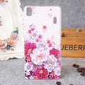 For Lenovo A7000 Relief Flower Painting Ultra Thin TPU Case For Lenovo K3 Note A 7000 K50-T5 K50 Transparent Soft Back Cover