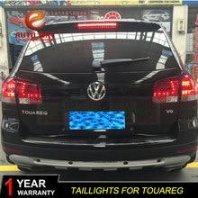 Автомобильный Стильный чехол для задней фары для Volkswagen VW Touareg 2003-2010 задний светильник s светодиодный задний светильник s