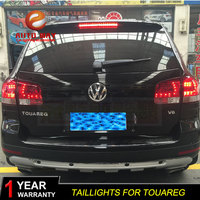 Car Styling Tail Lamp case for Volkswagen VW Touareg 2003 2010 Tail Lights LED Tail Light Rear Lamp LED taillights tail lights