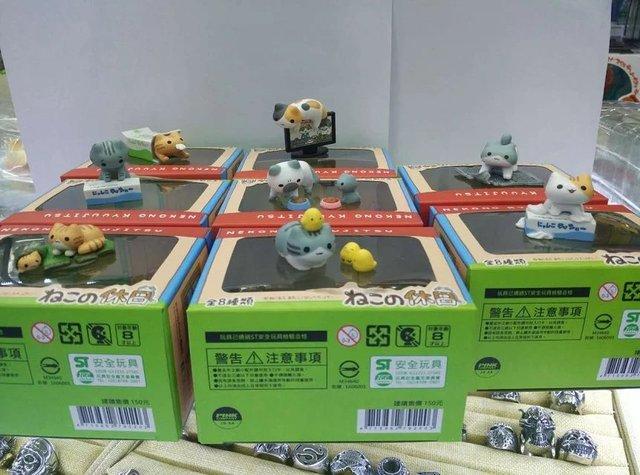 Игрушки Neko Atsume 8 шт 4