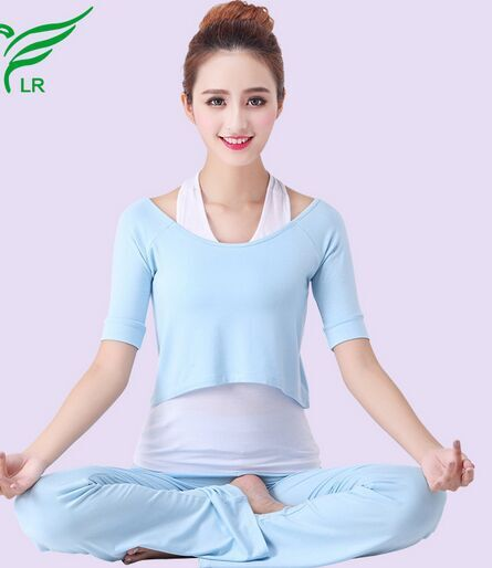 3 Pieces Modal Sports Clothes Yoga Wear Set Women's Suit Workout clothes ropa de yoga mujer - Angelsmile store