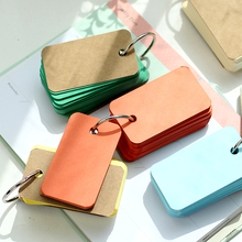 New Kawaii Candy Color Blank Kraft Paper M
