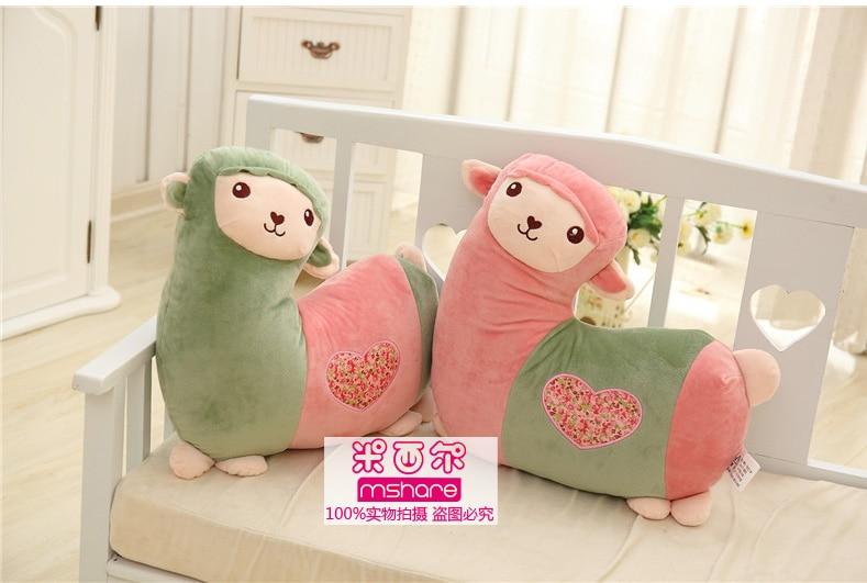Alpaca Pillow Lovely Doll Birthday Gift 40cm Size Good Price Plush Toy Staffed Animal Free Shipping MXE-YT