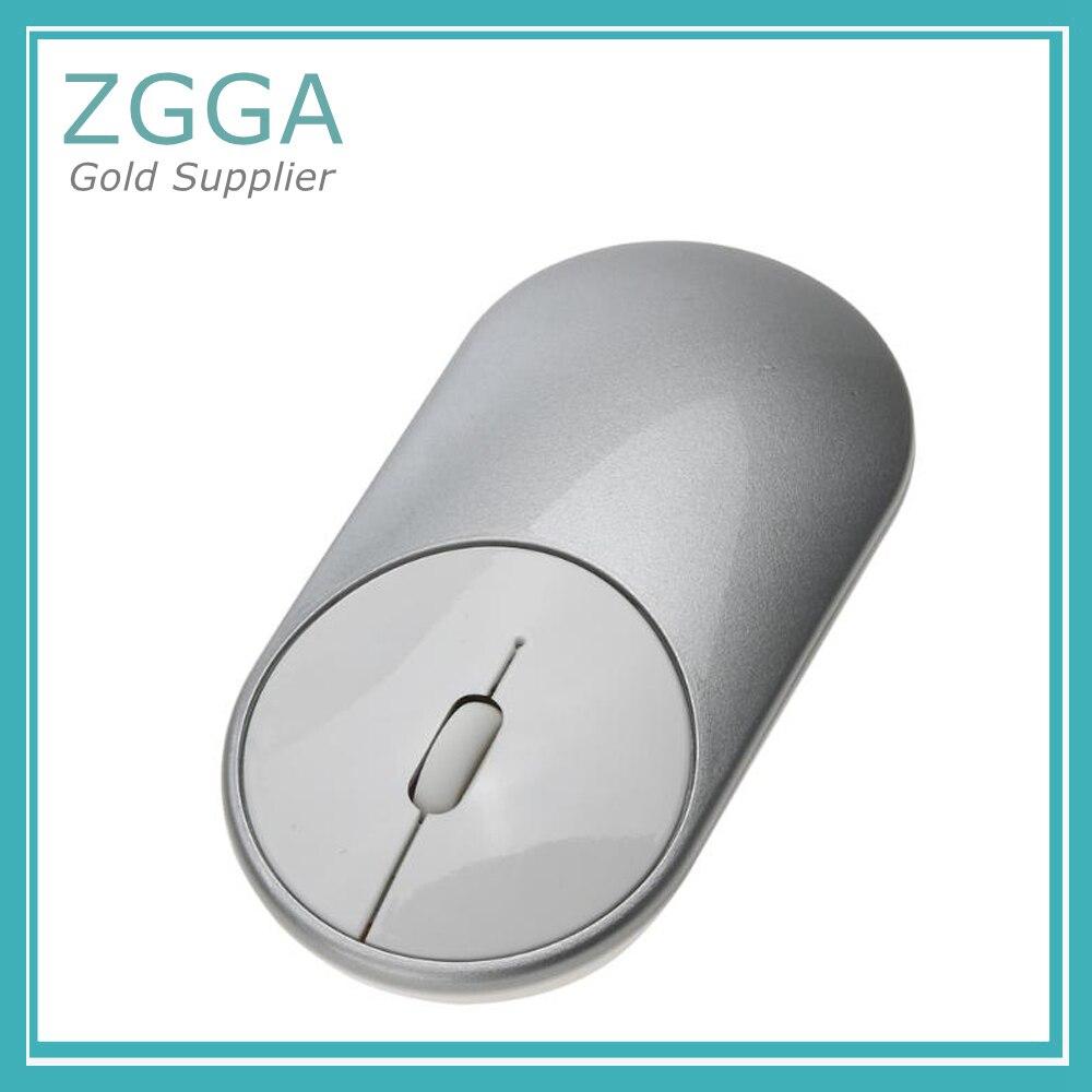 Mini souris optique sans fil ultra-mince 2.4 GHz souris de bureau en sourdine pour Xiao Mi Windows 7/8/10/Vista Type de Port NANO récepteur