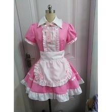 Vrouwen Maid Outfit Sweet Gothic Lolita Jurken Anime K ON! Cosplay Kostuum Schort Jurk Uniformen Plus Size Halloween Kostuums