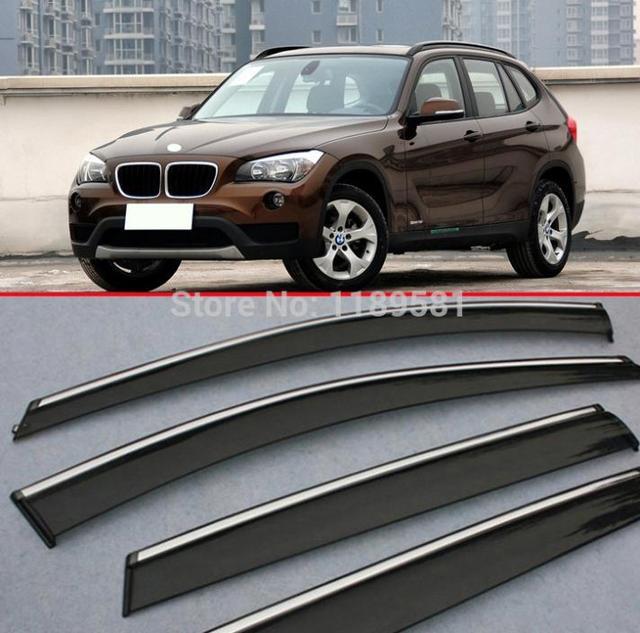 Para BMW X1 2011-2015 a Janela Do Vento Defletor Visor Chuva/Sun Guard Ventilação