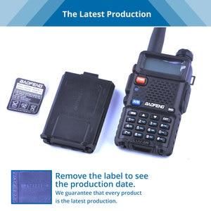 Image 5 - Baofeng UV 5R เครื่องส่งรับวิทยุ UV5R แบบพกพา CB วิทยุสถานีมือถือ UV 5R UHF VHF วิทยุสำหรับการล่าสัตว์วิทยุ