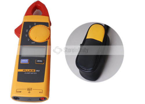 <font><b>Fluke</b></font> 362 Detachable Jaw AC/DC Clamp Meter + Soft Case Bag Holster image