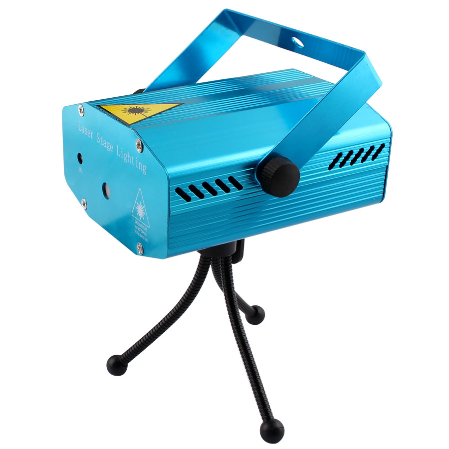 Image 2 - Mini LED Laser Projector Christmas Decorations Disco Light stage lighting effect Dj Voice activated Xmas Party Club wedding-in Stage Lighting Effect from Lights & Lighting