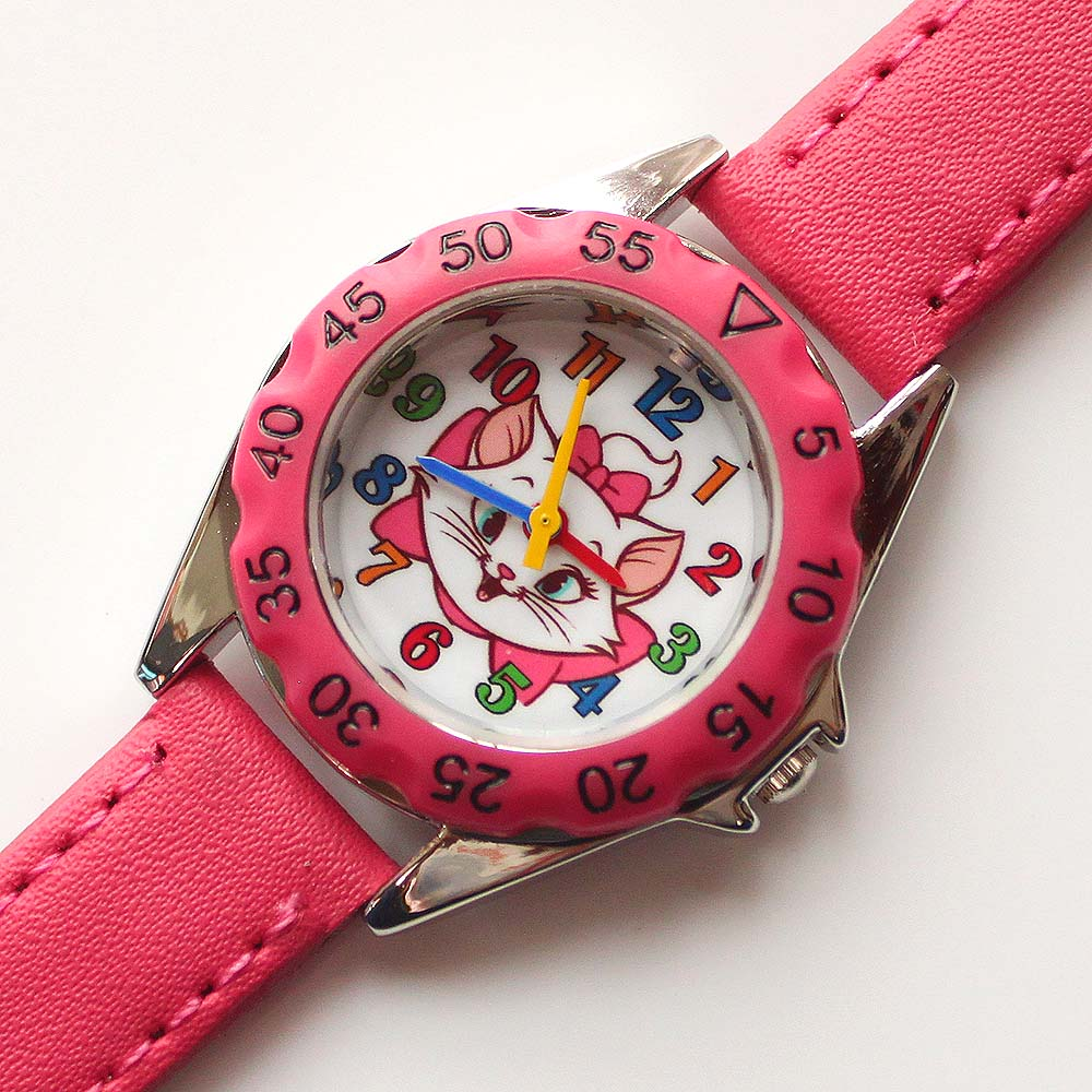 Cute Unicorn Ladies Watch For Kids Girls Boy Leather Wristwatch Casual Dress Fashion Children Learn Time Watch U85b Kidswatch A Wide Selection Of Colours And Designs Watches