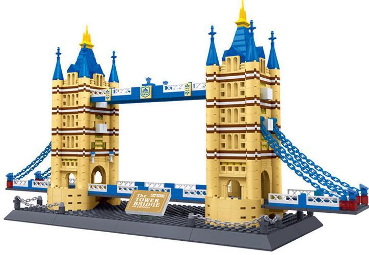 2016 New Architecture Creator Series The Tower Bridge 3d Model Building Blocks Classic Compatible Legoland House Toys