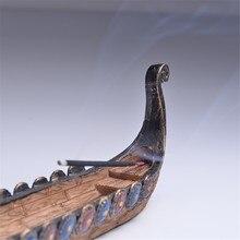 Viking Boat Incense Burner