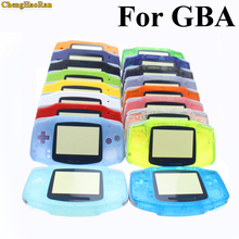 20 Colors Luminous Solid Colorfull Replacement Housing Shell Case Cover for Nintendo Gameboy Advance for GBA at factory price 1x стоимость