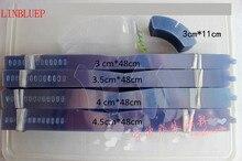 Collier en plastique PVC Transparent, 100 pièces, soutien à bande pour chemise pour homme