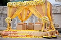 3 м * 3 м * 3 м Cube Свадебный фон Свадебный мандап свадьба палатка для Свадебные украшения украшение партии
