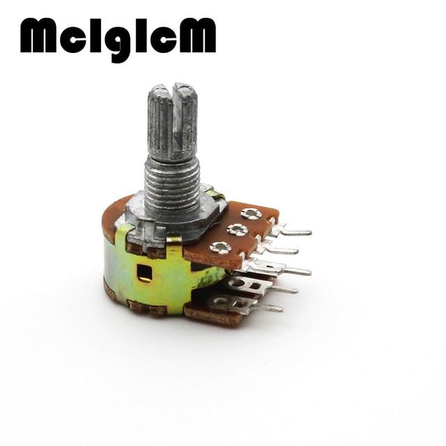 d0141 5pcs dual stereo potentiometer pot b500k 500k ohm r linear rh aliexpress com Micro Stereo Potentiometer stereo potentiometer wiring diagram