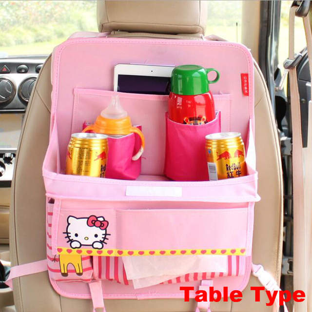 34c2da546ea placeholder Cartoon Cute Car Organizer Back Seat Storage Bag Car styling  Baby Product Varia Stowing Tidying Hello