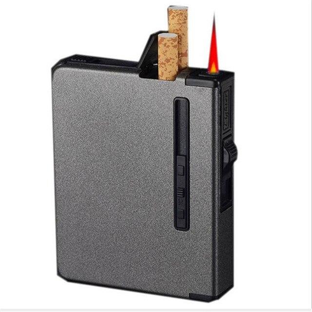 (12 di sigaretta) di Modo Glassato Multifunzione Cassa di Sigaretta Cigar Box Go