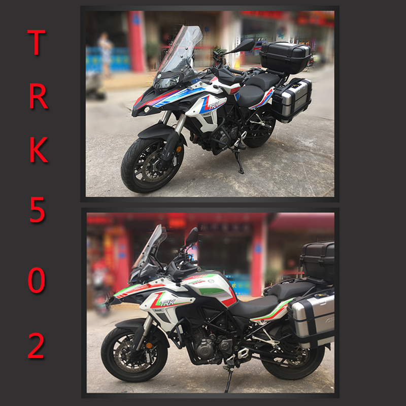 full sticker Motorcycle car body Decal decorate protect yes waterproof Prevent scratches Decals For Benelli TRK502 TRK 502