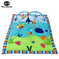 Summer Pure Cotton Baby Play Mat With Rack Infant Gym Carpet Soft Game Mats For Children Baby Toys