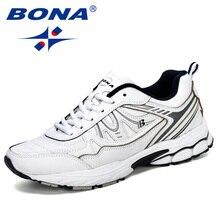Мужские классические кроссовки BONA, легкие и удобные кроссовки для занятий спортом, занятий спортом на открытом воздухе, 2019