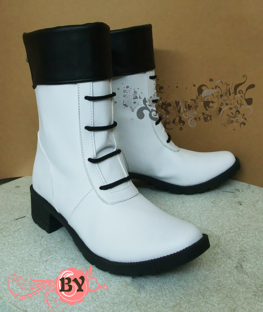 DMMD DRAMAtical Murder SEI Cosplay Boots Shoes Custom made New