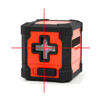 XEAST Portable Mini Cross Laser Level Meter 2 Line Horizontal And Vertical Red Green Beam Laser