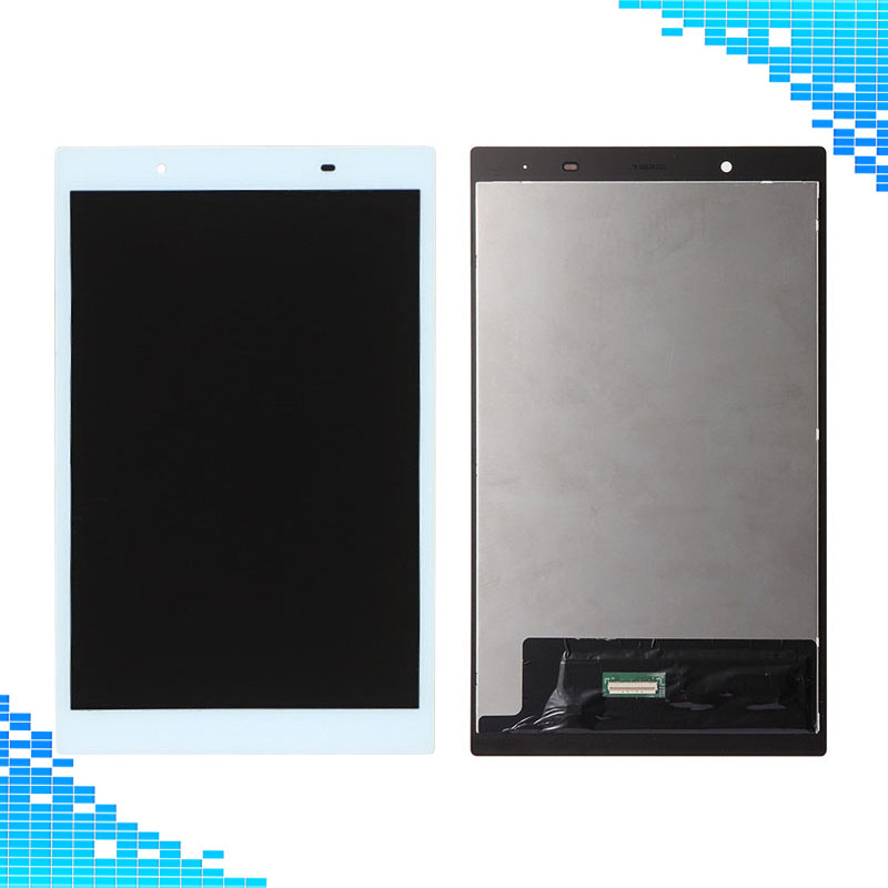 White LCD Display+Touch Screen Digitizer Assembly Repair Parts For Lenovo Tab 4 8.0 8504 TB-8504X TB-8504F Tablet Full screen top quality full lcd display touch screen panel digitizer assembly for thl w200 w200s w200c replacement repair parts black white