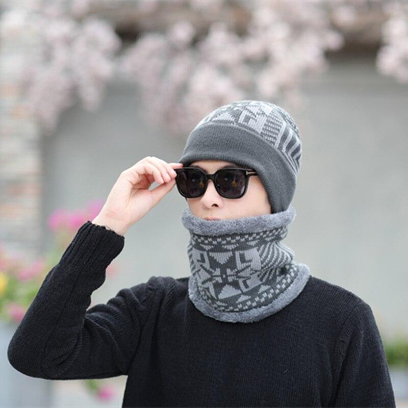 sterbakov 2018 Winter   skullies     Beanie   Hat Scarf Soft Skull Warm Cap Baggy Cap   Beanie   Hats Winter Hats For Men Women's Knit Hat