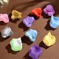 Pétalas de rosa 1000 pcs Por Lote Artificial Vaso Festa De Casamento Decoração do chá de Panela Favor Centerpieces Flor Confete