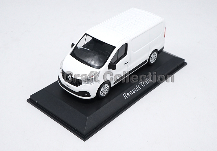 White 1: 43 Renault Trafic Van Alloy Model Diecast Cars Brinquedos Car Replica 1 18 otto renault espace ph 1 2000 1 car model reynolds