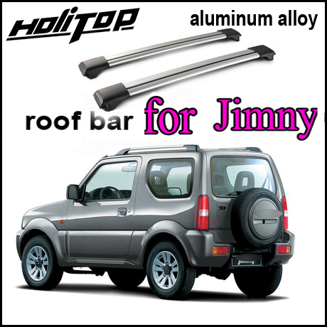 luggage cross bar/roof rail/roof bar for Suzuki Jimny 2014-2017, 7075 class slap-up aluminum alloy,old seller,quality guarantee shiturui for skoda fabia ultra quiet truck roof bar car special aluminum alloy belt lock