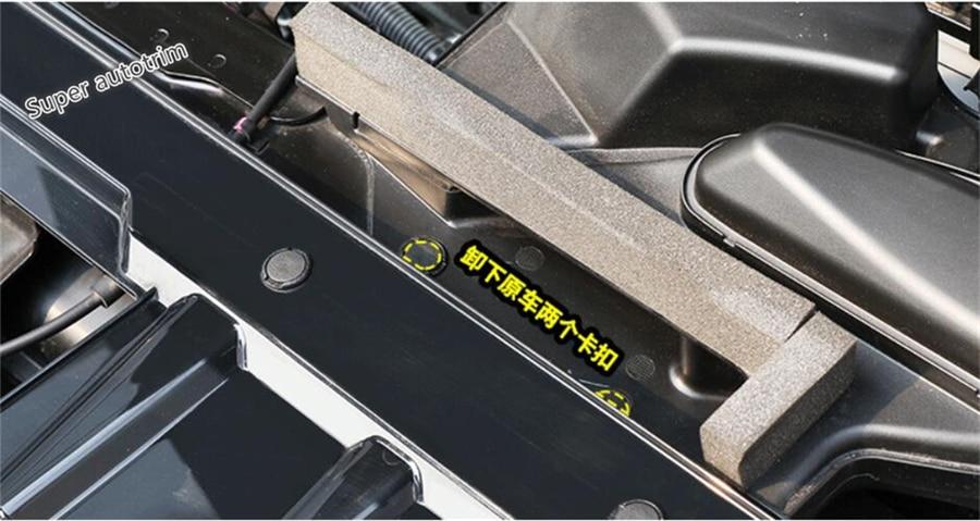 Chrome Headlight Button Panel Cover Trim 2Pcs For Nissan Rogue X-trail 2014-2019