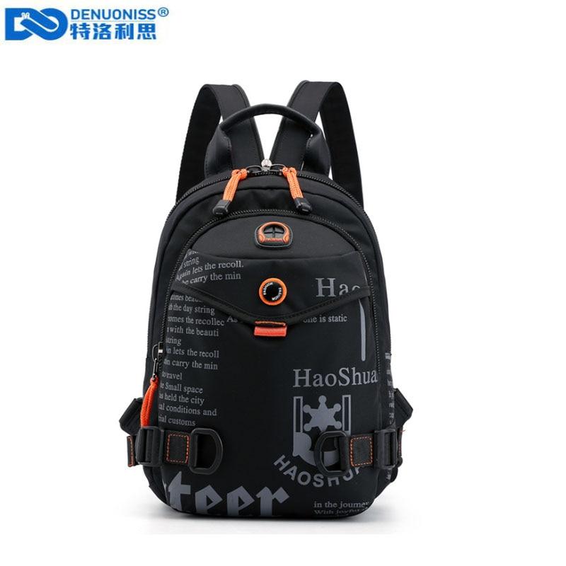 New Designer Fashion Men Backpack Mini Soft Touch Multi-Function Small Backpack Male Shoulder Bag Men Purse