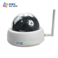 High Quality Mobile Monitoring Megapixel HD 1280 720P IP Dome Camera WIFI Wireless Indoor Home Surveillance
