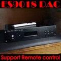 Terminado ES9018 DAC control Remoto Soporte/Support U8 o Amanero XMOS usb Apoyo DSD512 iis 384 K 32Bit