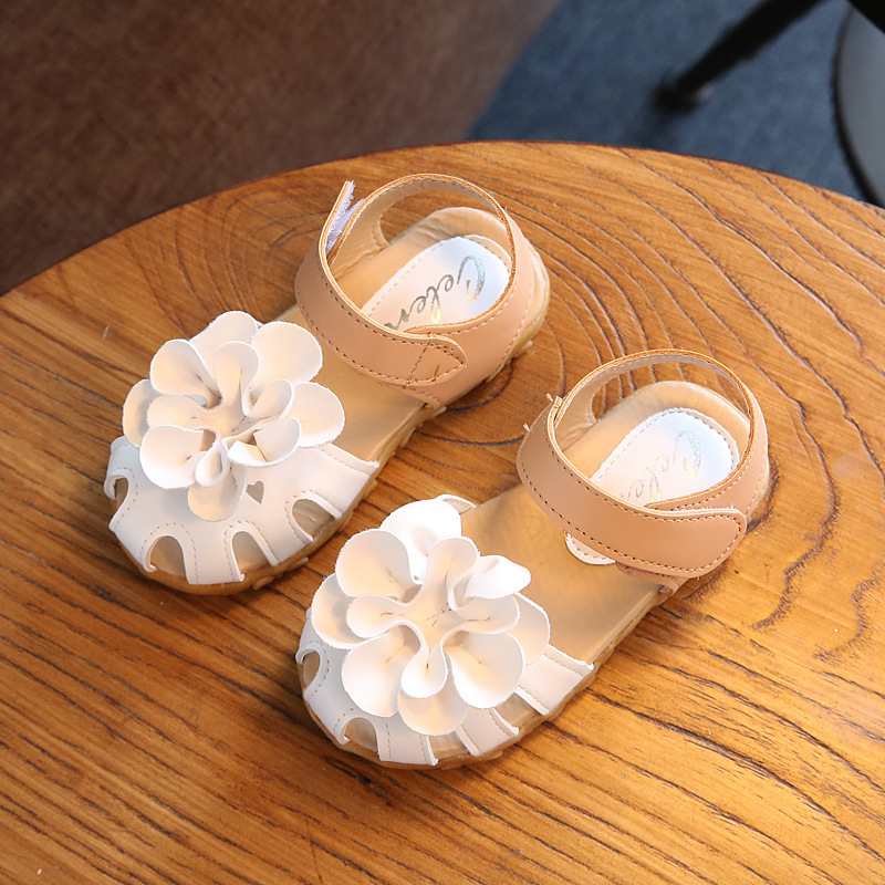 Children Sandals Shoes Kids Girls Sandals With Flower Baby Sandals Shoes Infant Toddler  ...