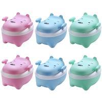 Portable Cute Children Toilet Training Potty Seat Toilet Bowl Pot Baby Care