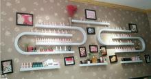 Nail salon nail polish rack display rack wall hanging rack u – shaped nail polish rack