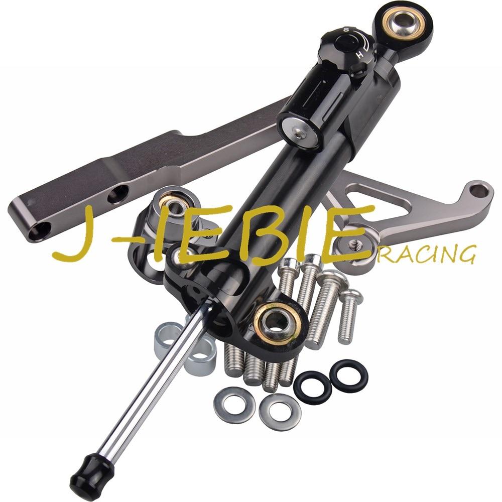 CNC Steering Damper Stabilizer and Titanium Bracket Mounting For Honda CB1000R CB1000 R 2008-2016 2009 2010 2011 2012 2013 2014