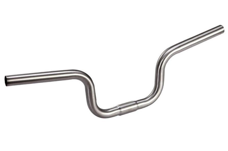 Ultra light Titanium Ti 25 4mm 1 M TYPE Riser Handle Bar for Brompton