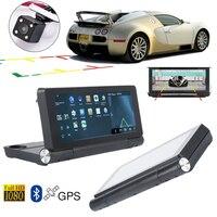 Vehemo 7 1080P Car DVRs Dash Cam WIFI 3G Car GPS Navigation Android 5.0 Navigator Touch Screen FM Car Radio+Rearview Camera