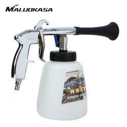 MALUOKASA Торнадо автомобильный пневмоочиститель авто Интерьер сухой глубокий Чистка стирка пистолет для техническое обслуживание кабины
