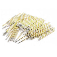 100 X Spring Test Probes Testing Pins 1mm Point Tip 33 35mm Long P100 E2