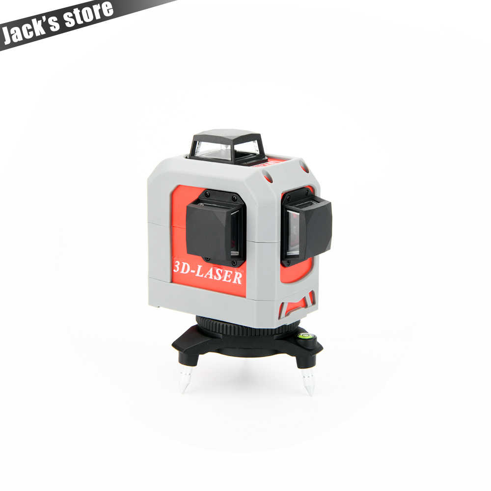 12Lines 3D Laser Level Self-Leveling 360 Horizontal And Vertical Cross Super Powerful Red Laser Beam Line