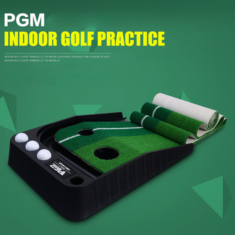 Pertolongan Am Golf Putter Practice Set Meletakkan Pelatih Hijau - Golf - Foto 6