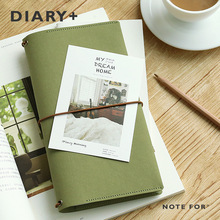 6 Colors Planner Diary Weekly Monthly Plan Notebook Travel Journal School Office Notepad Gift For Students Hobonichi Style