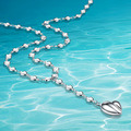 925Sterling silver;women 925 genuine silver necklace;New fashion design; Joker fashion;silver charm necklaces;