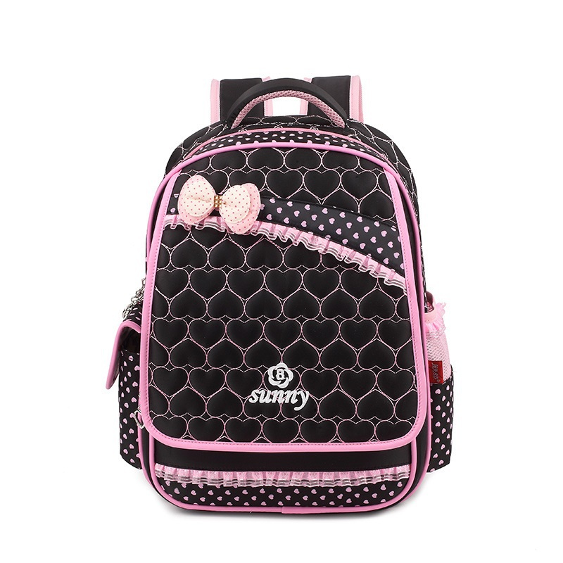 Nylon waterproof  kids girls backpack female children school bags travel bag mochilas infantils escolars for teenager girls ableme new 2017 children schoolbag backpack mochilas escolares infantis large waterproof comfotable children school bag backpack