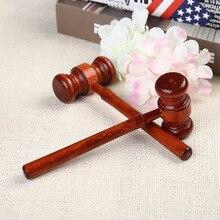 цена на 1pc Mini Hammer Lawyer Decoration Hammers Judge Hammer Wood  Hammer Multitool Small Hammer Christmas Kid Gift Knock Egg Toy